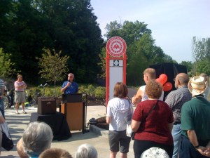 The Opening of the Monon Trail in Westfield