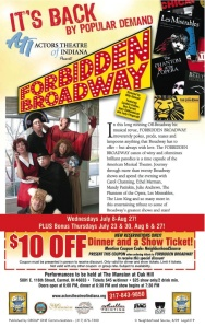 Forbidden Broadway coupon