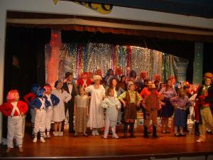 Willy Wonka performance at The Belfry Theatre