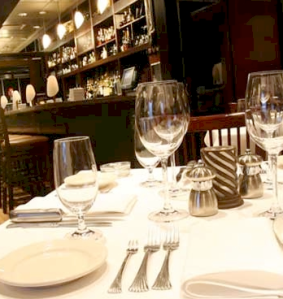 The ambiance of Peterson's - photo from PetersonsRestaurant.com